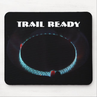 Trail ready, pressure stove mouse pad