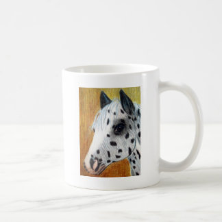 """Trail Ride"" Appalloosa Horse Coffee Mug"