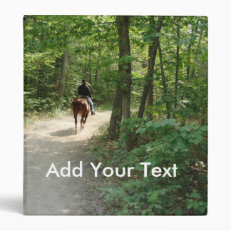 Trail Ride Binder