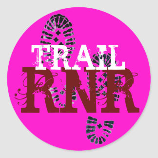 TRAIL RNR CLASSIC ROUND STICKER