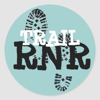 TRAIL RNR CLASSIC ROUND STICKER