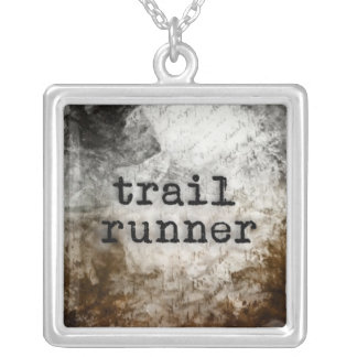 Trail Runner necklace by Vetro Jewelry