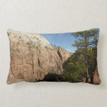 Trail to Angels Landing in Zion National Park Lumbar Pillow