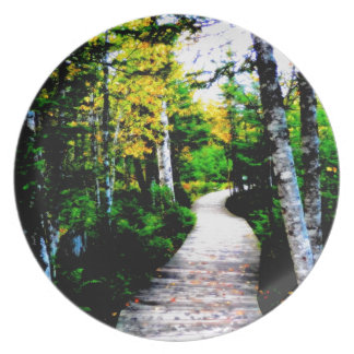 Trail To Autumn Party Plates