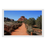Trail to Bell Rock Print