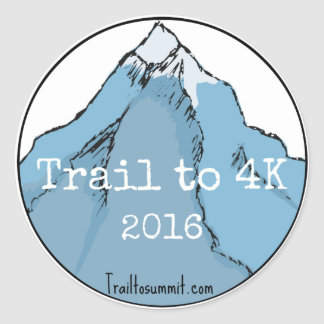 Trail to K Challenge Stickers