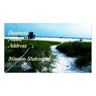 Trail To The Sea Double-Sided Standard Business Cards (Pack Of 100)