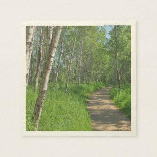 Trail Trough Aspens Paper Napkin