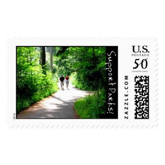 Trail Walkers Postage