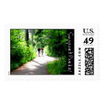 Trail Walkers Postage Stamps