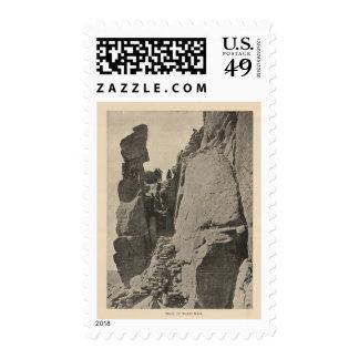 Trail, Walpi Mesa Postage Stamp