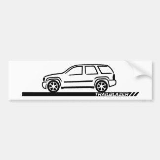 Trailblazer Black Truck Bumper Sticker