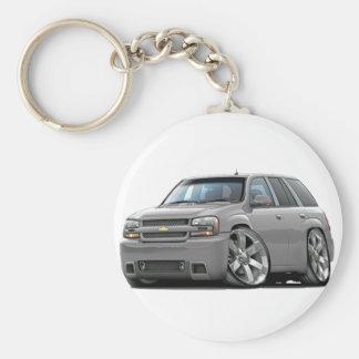 Trailblazer Silver Truck Key Chains