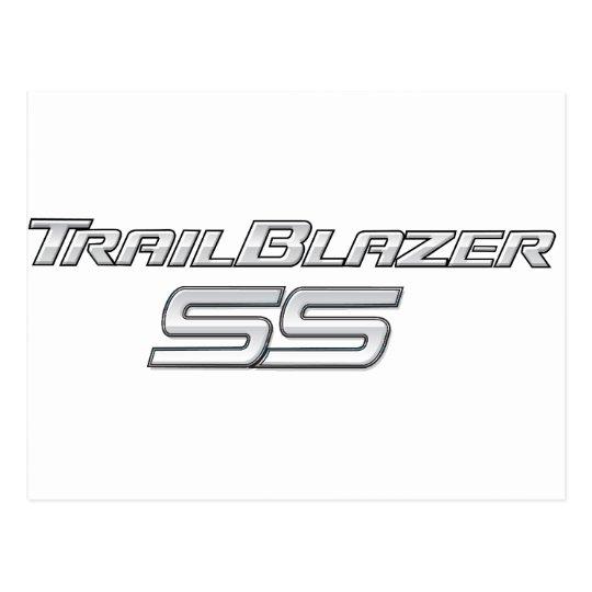 Trailblazer SS Emblem Postcard