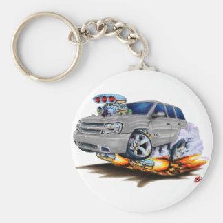 Trailblazer SS Silver Truck Keychains