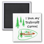 Trailcraft Canoe Magnet