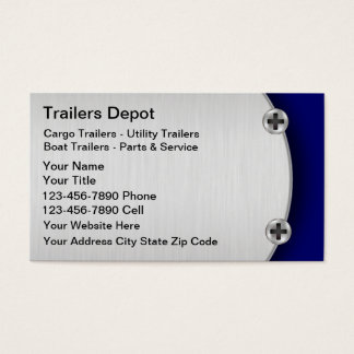 Trailer Business Cards
