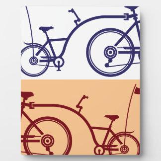 Trailer cycle. Bicycle attachment. Co-pilot Plaque