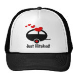 Trailer Just Hitched Trucker Hats