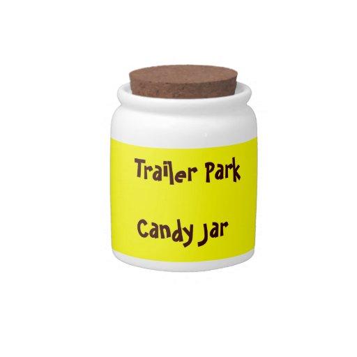 Trailer Park Candy Jar