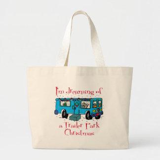 Trailer Park Christmas Jumbo Tote Bag