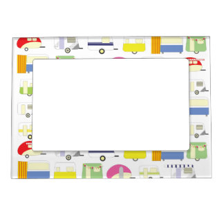 Trailer Park Colorful Magnetic Frame
