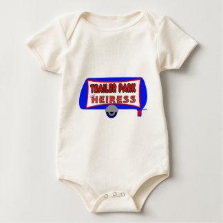 Trailer Park Heiress Baby Bodysuit