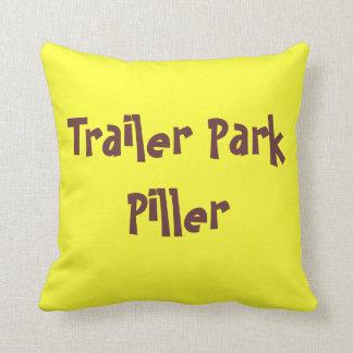 Trailer Park Piller Throw Pillow