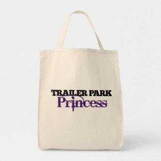 Trailer Park Princess cutie Grocery Tote Bag