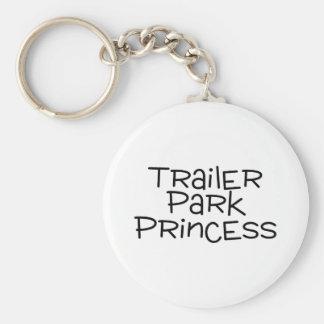 Trailer Park Princess Keychain