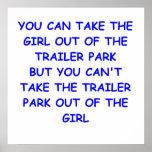 trailer park print