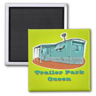 Trailer Park Queen Magnet (customizable)