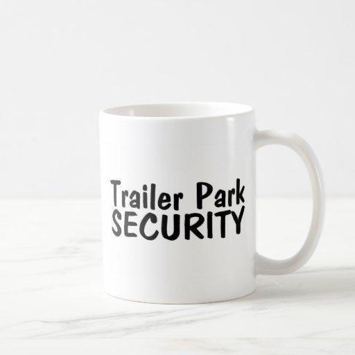 Trailer Park Security Classic White Coffee Mug