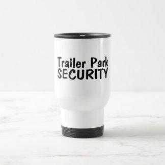 Trailer Park Security 15 Oz Stainless Steel Travel Mug