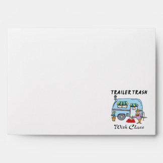 trailer park trash with class envelope