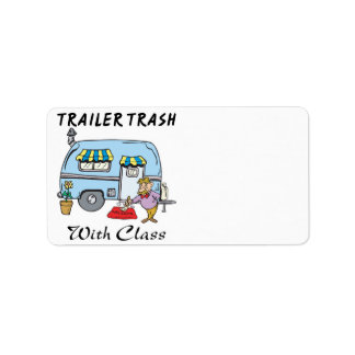 trailer park trash with class label