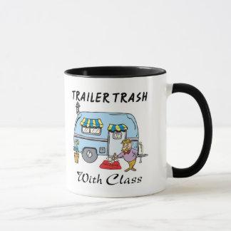 trailer park trash with class mug