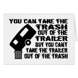 Trailer Trash Card
