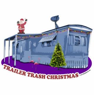 Trailer Trash Christmas Cutout Ornament