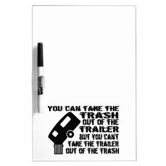 Trailer Trash Dry-Erase Board
