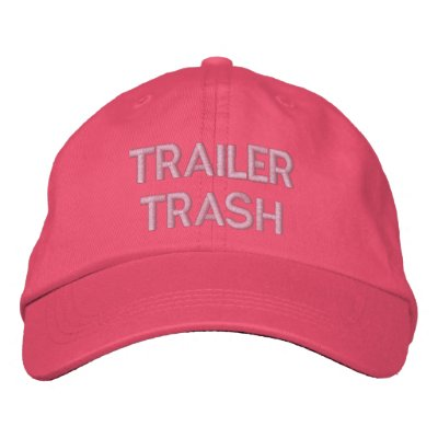 TRAILER TRASH EMBROIDERED HATS