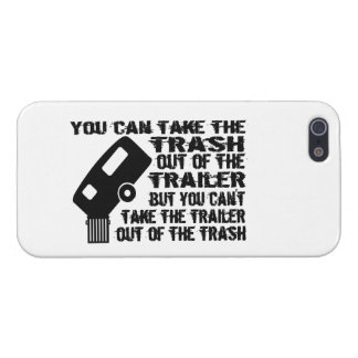 Trailer Trash iPhone SE/5/5s Cover
