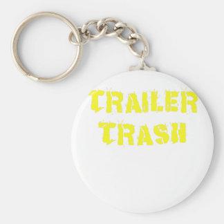 Trailer Trash Key Chain