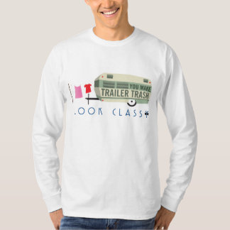 Trailer Trash Men's Long-Sleeve T-shirt