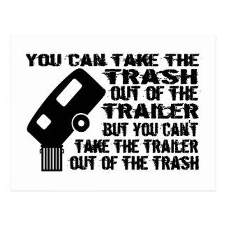 Trailer Trash Post Card