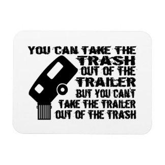 Trailer Trash Rectangular Photo Magnet
