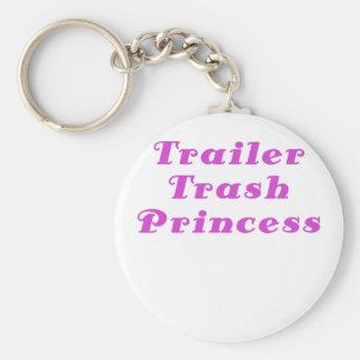 Trailer Trash Princess Keychains