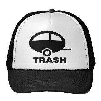Trailer Trash ~ RV Travel Camping Trucker Hat