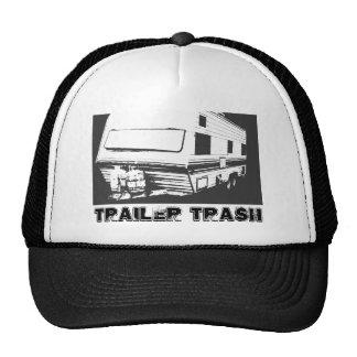 Trailer trash trucker hat