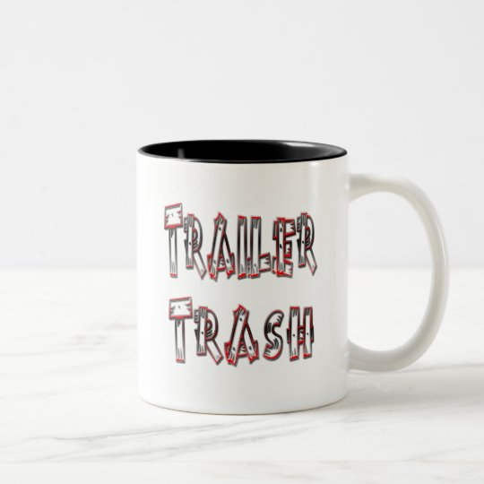 Trailer Trash Two-Tone Coffee Mug